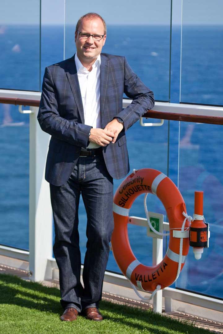 Tom Fecke © Celebrity Cruises