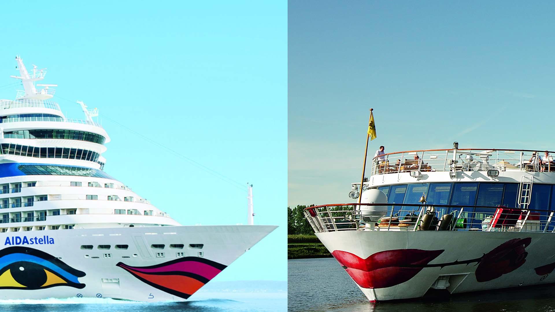 © AIDA Cruises & A-ROSA