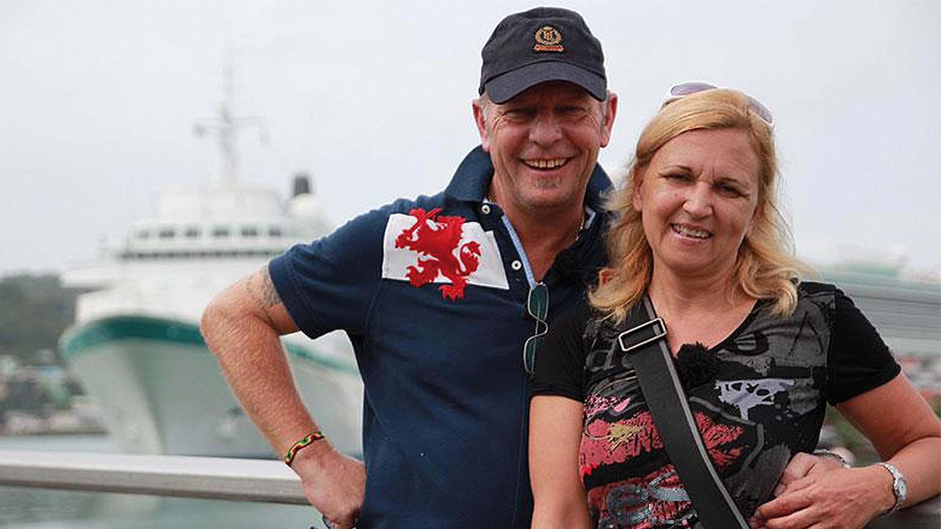 Kapitän Morten Hansen mit seiner Frau Waltraud. ©DasErste.de