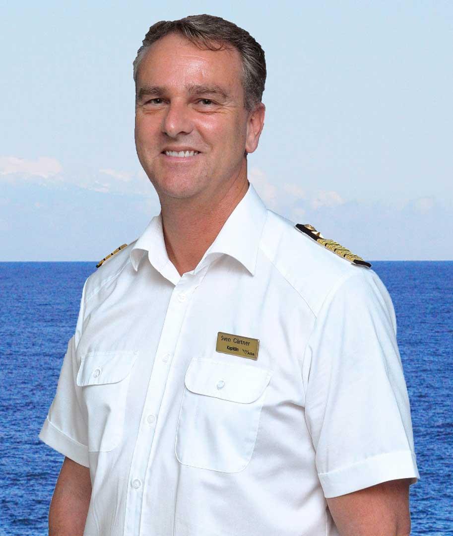 Kapitän Sven Gärtner © AIDA Cruises
