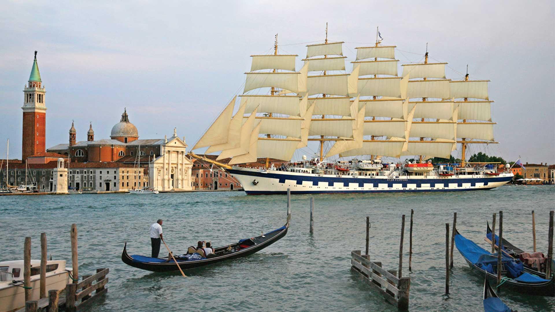 Die Royal Clipper, das derzeit größte Segelschiff der Welt. © Star Clippers