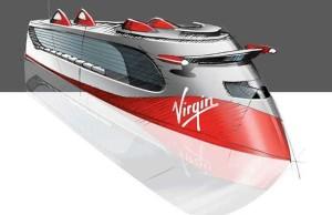 Einer der füheren Entwürfe © Virgin Cruises