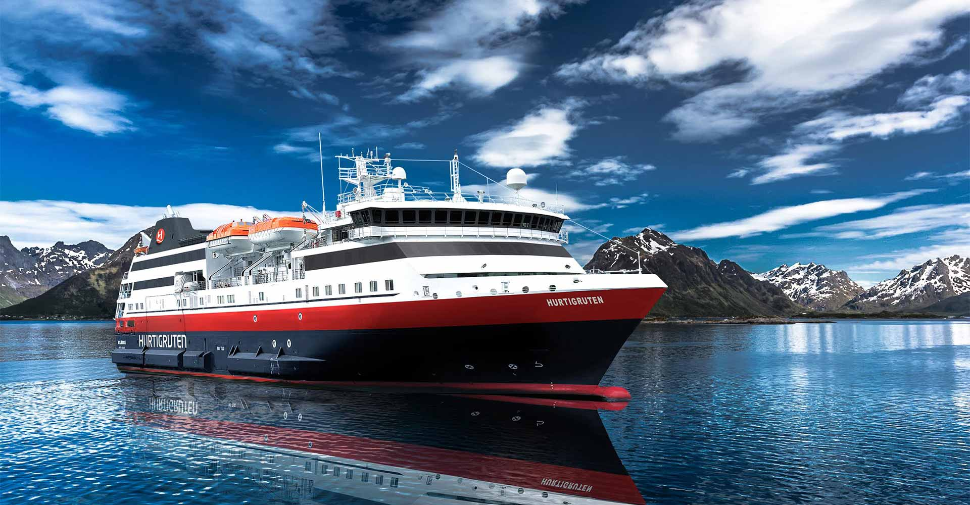 MS Norway Explorer © Hurtigruten