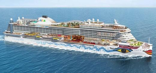 Die AIDAprima im Aufriss © AIDA Cruises
