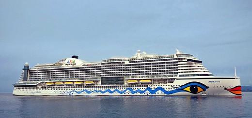 Die AIDAprima © AIDA Cruises