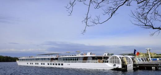 Die Elbe Princess startet vom Tegeler See in Berlin Richtung Prag (Bild: Jutta Lemcke)