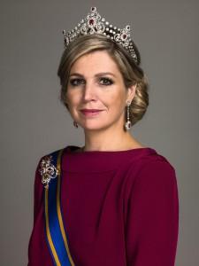 Königin Máxima der Niederlande © Holland America Line