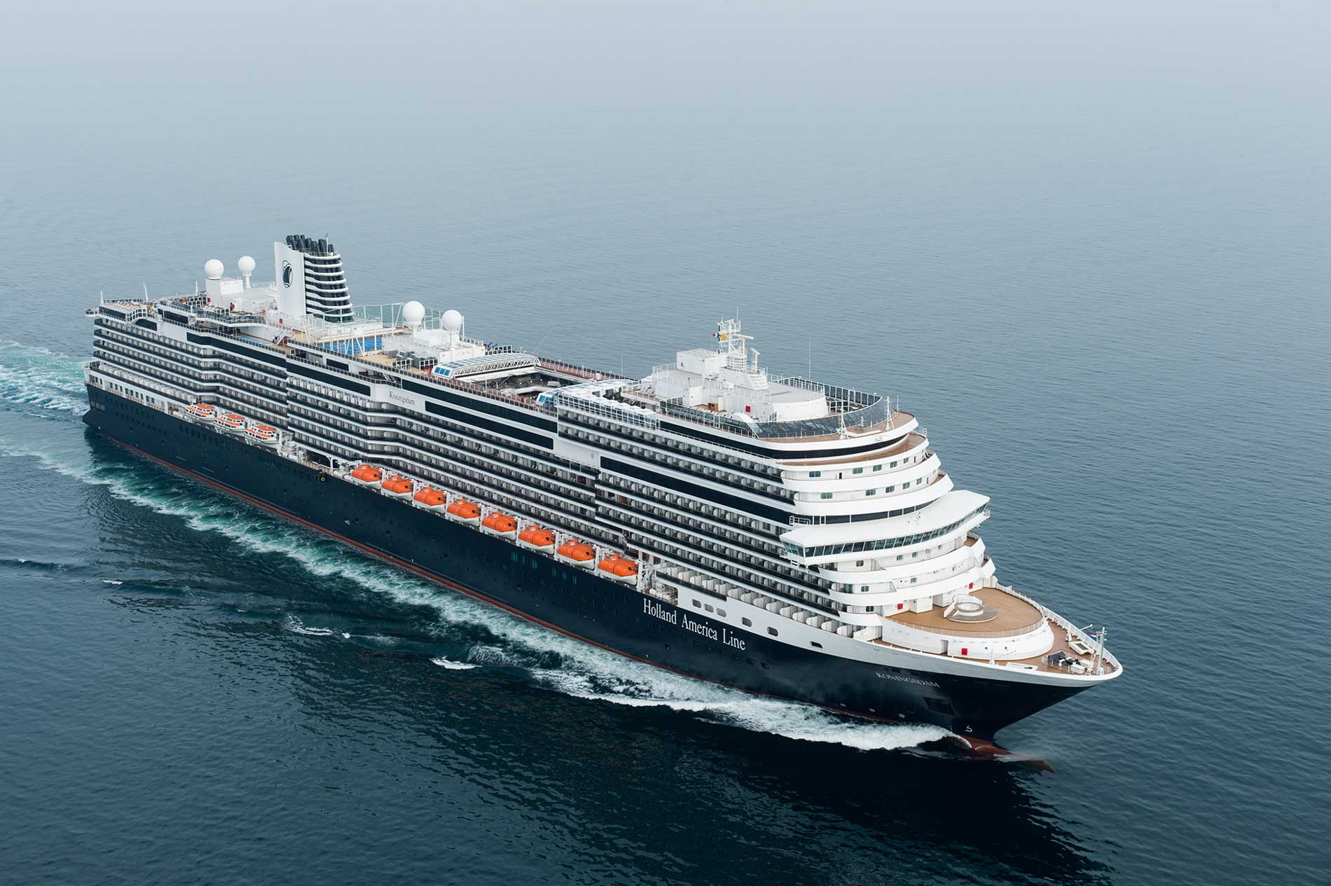 Die neue MS Koningsdam © Holland America Line