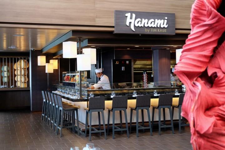 Das Hanami bietet asiatische Küche