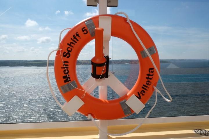 Die Mein Schiff 5 fährt unter der Flagge Maltas.
